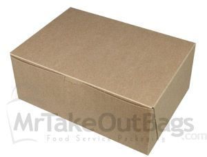 10 X 7 X 4 100 Recycled Brown Kraft Cupcake Boxes Cupcake Boxes Brown Kraft Kraft