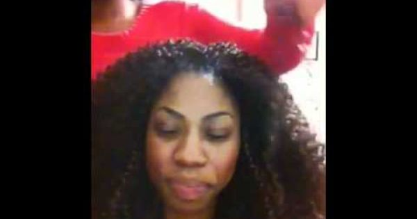 Crochet Hair Video Tutorials : wave crochet braids. Video tutorial Braids Pinterest Crochet ...