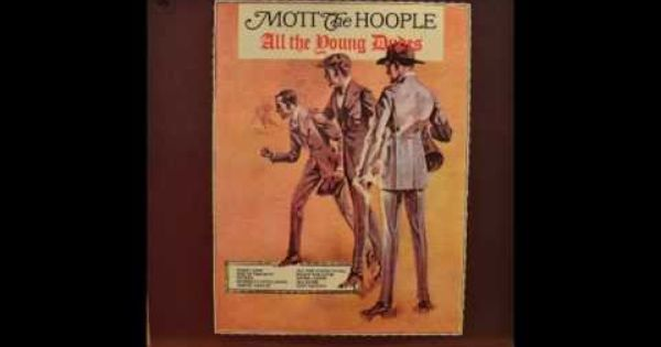 Mott The Hoople All The Young Dudes Full Album Vinyl Lp 1972 All The Young Dudes Mott The Hoople Hoople