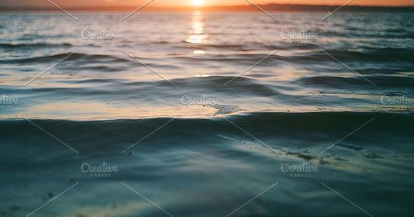 Ocean Calm Sunset
