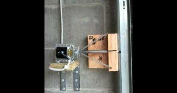 Garage Door Deadbolt Automatic Lock Youtube Garage Door Lock Garage Doors Garage