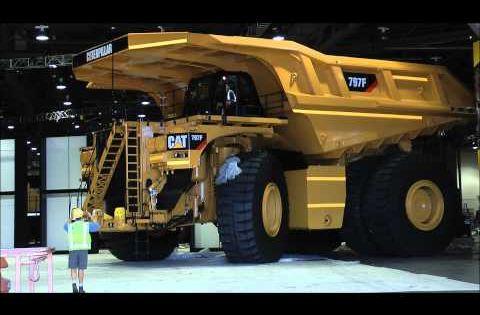 Mining Toys For Boys : Biggest dumptruck in the world caterpillar f big boy