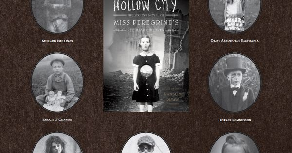 Hollow City Poster Giveaway! (The 2nd Novel of Miss Peregrine's Home for