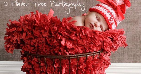 Newborn picture idea- valentines day