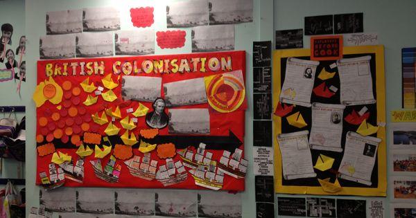Classroom Decorations Australia : British colonisation of australia unit work display