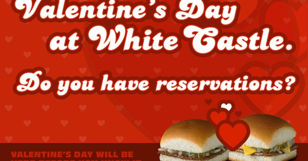 white castle valentine's day reservations 2015 indianapolis