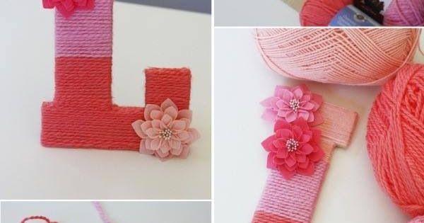 Letters versieren kinderkamer en babyspullen pinterest knutselen sinterklaas en school - Versieren kinderkamer ...