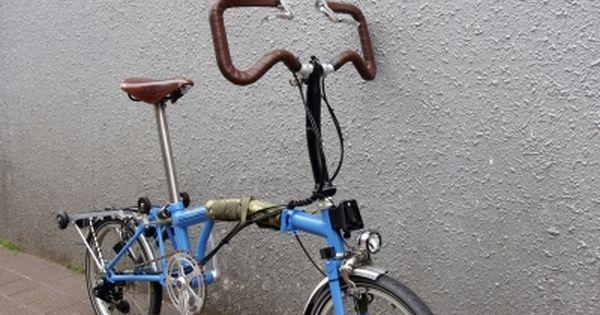 以前microshiftサムシフターに変更したbromptonの追加作業をお受けしましてストレートバーからp タイプのハンドルバーに交換して欲しいとの事ですbromptonのハンドルバーは上記のような3種ですp Typeってのは一番右のマル ブロンプトン サムシフター 自転車