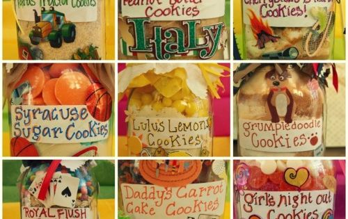 Recipes for Jar Cookies - unique jar recipes - check it out
