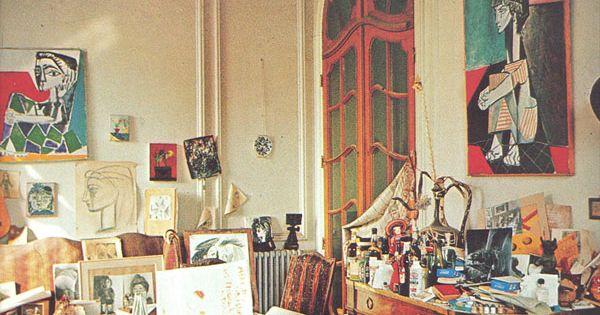 Pablo Picasso's studio.