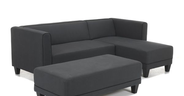 Canap d 39 angle r versible mikk canap s en tissu for Canape salle a manger