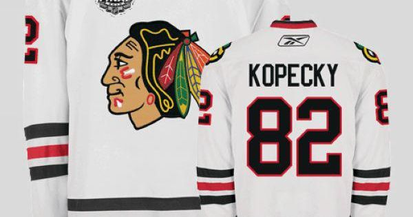 ... closeout blackhawks 82 tomas kopecky embroidered white with stanley cup  finals nhl jersey cheap blackhawks jerseys 459a378bd
