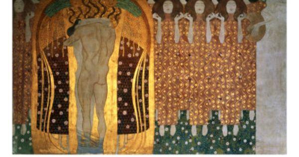 Beethoven Frieze Klimt Posters At Allposters Com Gustav Klimt Klimt Art Klimt