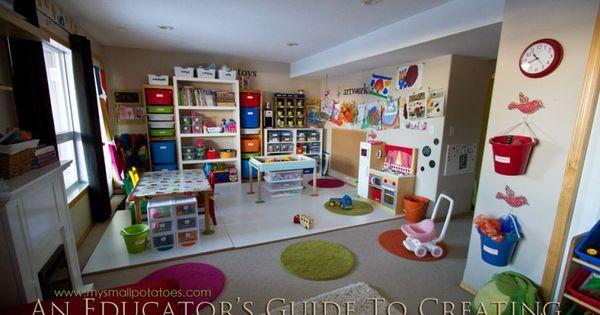 Classroom Organization Ideas For Preschool : Several classroom organization ideas are broken down in