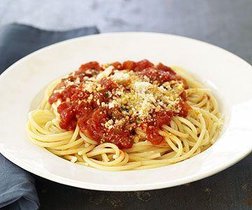 Spaghetti Mit Marinara Sosse Rezept Kitchen Stories Rezept Rezepte Spaghetti Marinara Rezept Marinara