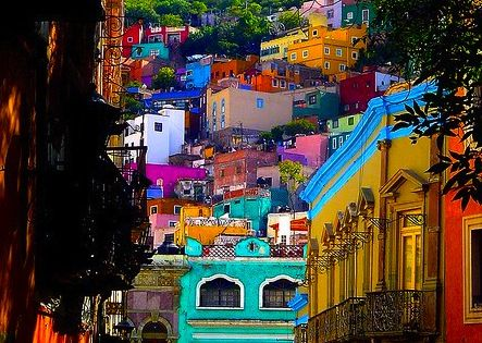 GUANJUATO GUANAJATO MEXICO... I tell you... entering into this city IS ART!!!