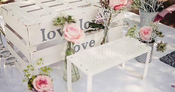 idées déco et inspirations mariage - Mariage romantique rose vintage ...