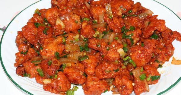 Gobi manchurian, Recipes for cauliflower and Vegetarian recipes on ...