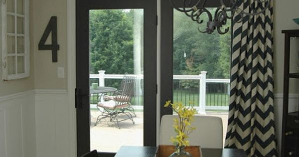 A Fresh New Look In The Dining Room Sliding Door