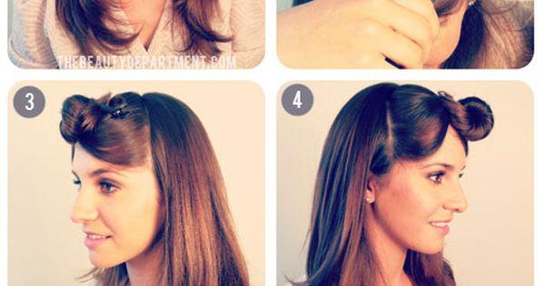 #VintageHair VintagePonytail HairUp