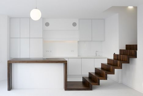 stair + kitchen bench - KHBT / OSA_OFFICE FOR SUBVERSIVE ARCHITECTURE