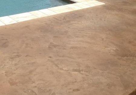 Stamped Concrete Overlay Pool Baton Rouge La Louisiana