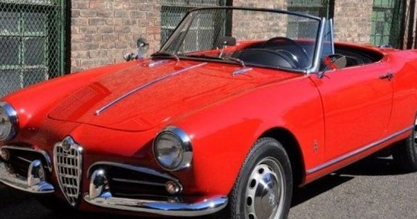 1960 alfa romeo giulietta spider veloce vendre annonces voitures anciennes de collectioncar. Black Bedroom Furniture Sets. Home Design Ideas