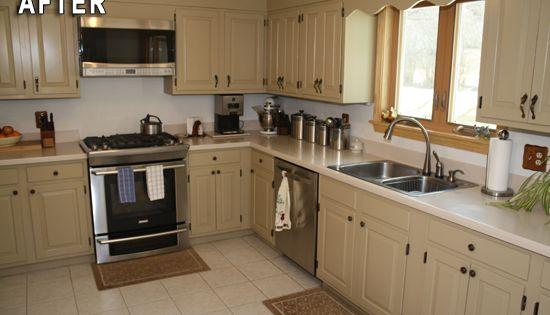 Rustoleum Kitchen Transformation After Photo Rust Oleum