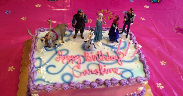 Best frozen cake ordered from publix for our granddaughters birthday