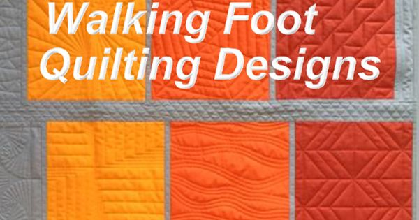 Free Quilt Patterns Walking Foot Quilt Designs Free