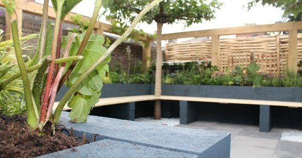 Koken en eten in strakke tuin eigen huis tuin garden for Hoofdbord maken eigen huis en tuin