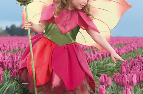 tulip fairy costume i love this idea maybe we could use one of the flowers from the bouquets. Black Bedroom Furniture Sets. Home Design Ideas