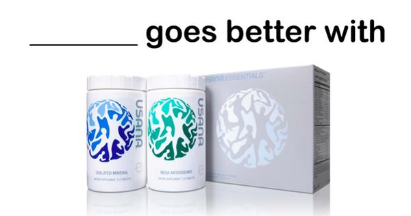 Usana essentials goes better with biomega fish oil and for Usana fish oil