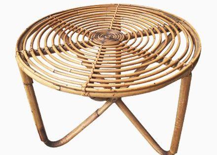 Niedriger Runder Tisch Aus Bambus 1950er Jetzt Bestellen Unter Moebel Ladendir Tisch Ideen Tisch Runder Tisch Beistelltische