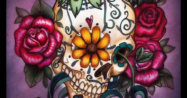 #vagabondco Tattoos Tattoo ink sugarskull