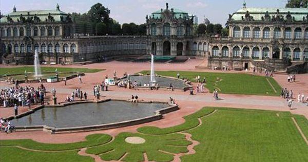 Zwinger Dresden Wikipedia The Free Encyclopedia Germany Castles Castle Dresden