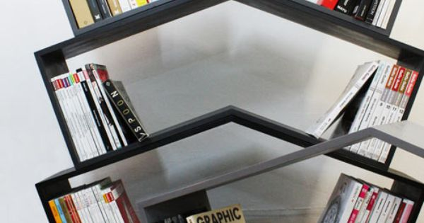 Like this simple bookshelf idea