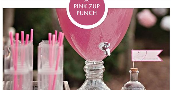 Pink 7UP Punch - Two 2 liters of 7up, One 2 liter