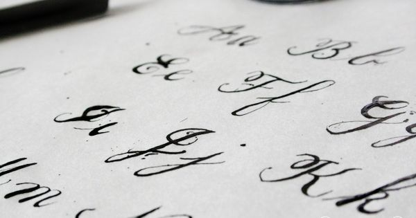 Learning Calligraphy For Real This Time Fonts Lakes