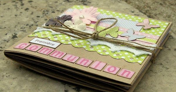 Premi Re Communion Mini Album Pinterest Communion
