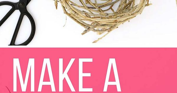 how to make a birds nest out of cardboard