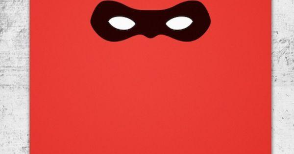 Pixar Minimal Posters / The Incredibles - Wonchan Lee