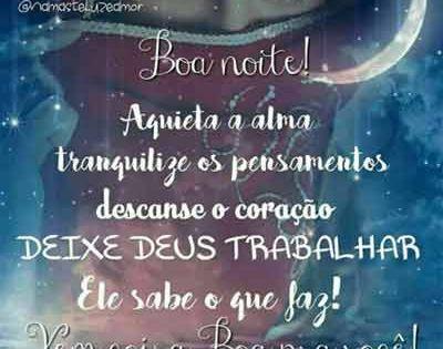 Noite1 Com Imagens Mensagem De Boa Noite Boa Noite Deixe Deus