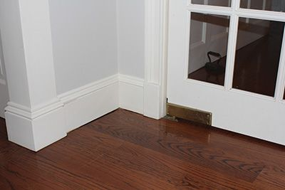 Base Your Plinth Design On Existing Blocks Throughout The Home Plinth Blocks Interior Door Trim Flooring
