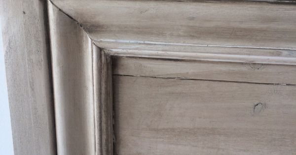 Restoration Hardware Finish Pickled Oak Premixed Grey