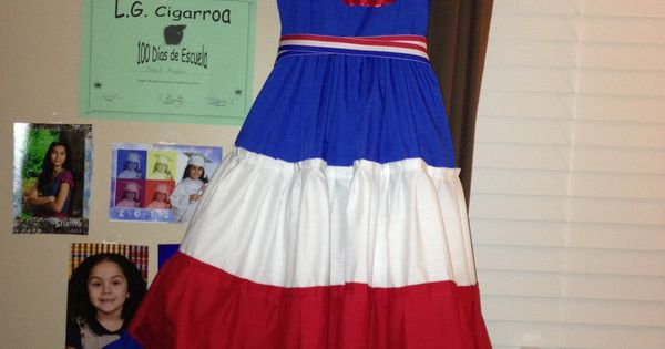 Dominican Republic Folkloric Dance Dress Dominican