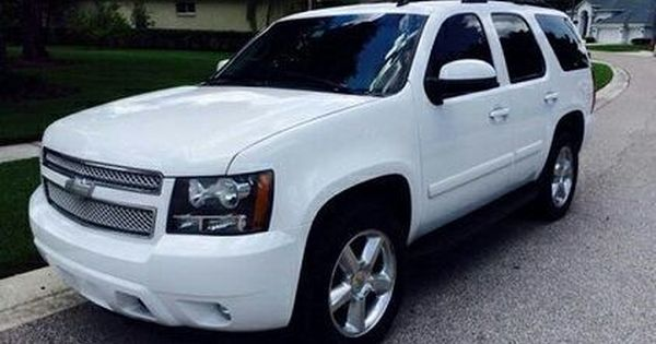 2008 White Chevy Tahoe Lt In Atlanta Ga Sells For 2 000 Chevy Tahoe Cars For Sale Cheap Used Cars