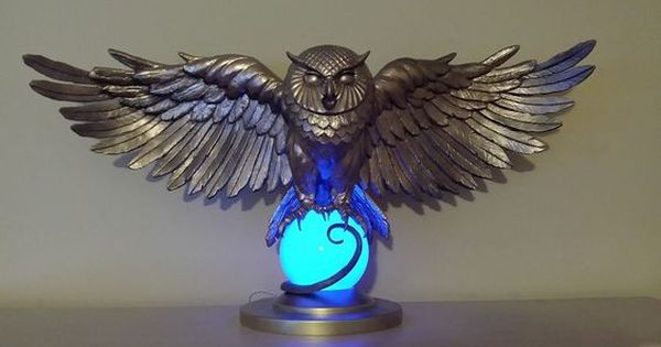 My Harry Potter Golden Owl Statue With Images Harry Potter