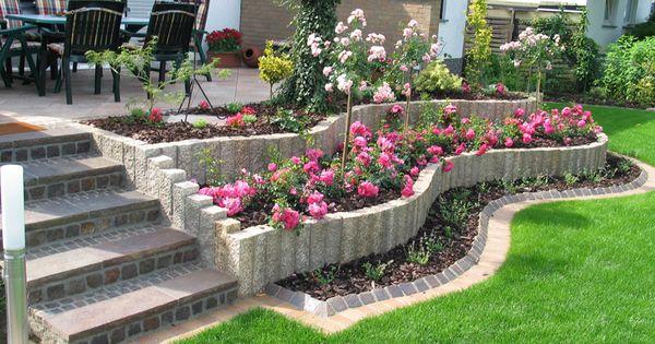 Jardines diseno con flores disenos de jardines ideas for Jardines bonitos y sencillos