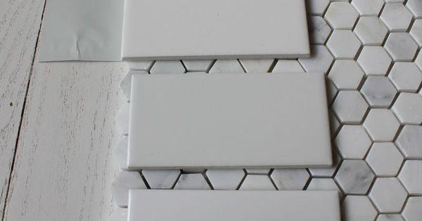 Benjamin Moore Wickham Gray With Subway Tile Amp Hex Floor